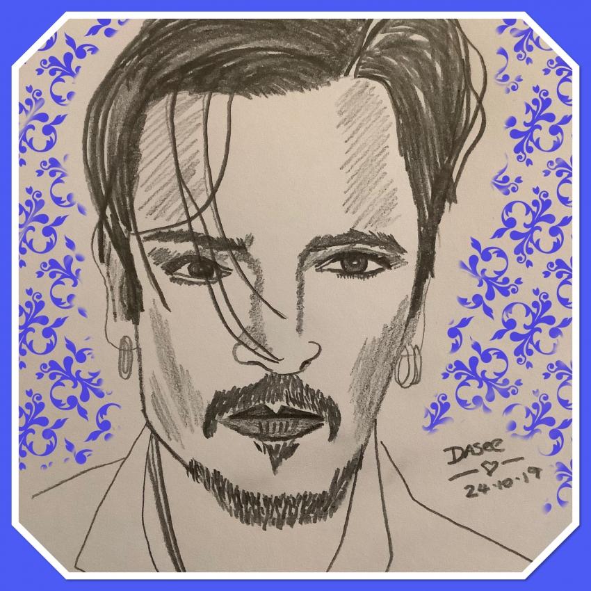 Johnny Depp par dasee